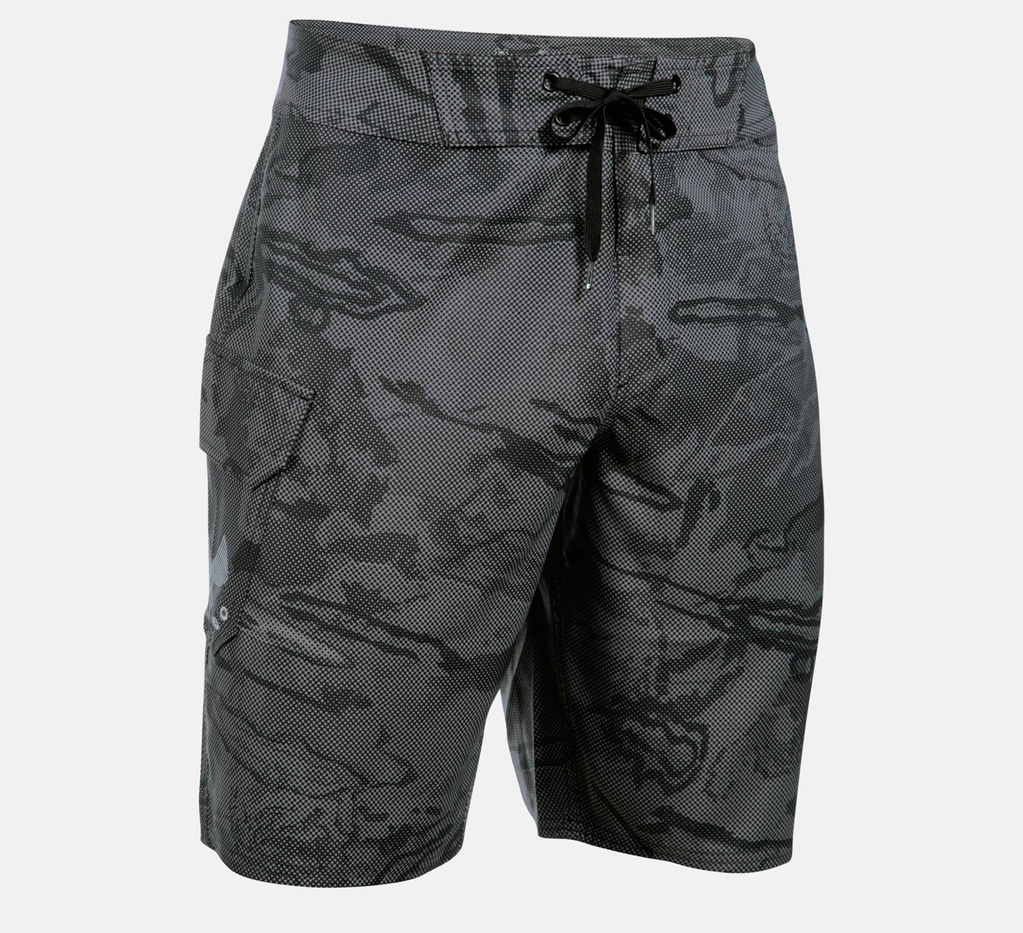 Graphite Reblek Boardshorts By Under Armour