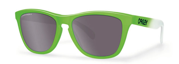 Green Fade Eyewear for the Rio Olympics by Oakley
