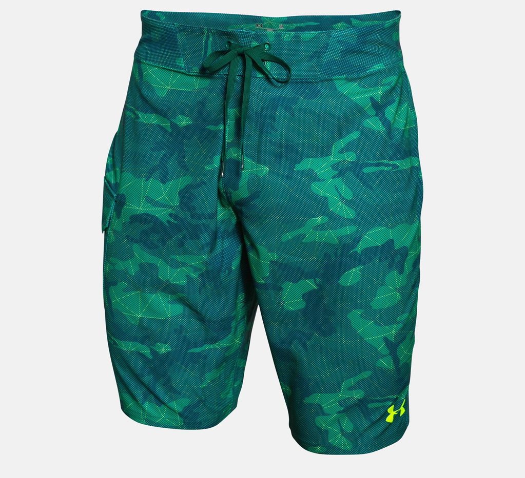 Green Reblek Boardshorts By Under Armour
