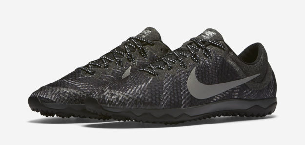 Grey Nike Zoom Rival Waffle XC Shoe