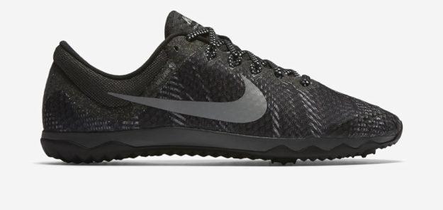 Grey Nike Zoom Rival Waffle XC Unisex Track Shoe