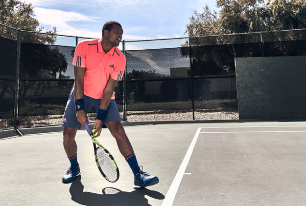 Jo-Wilfried, Adidas New Tennis Collections For 2016 US Open