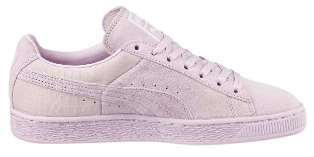 Puma Zapatos Del Ante De Las Mujeres Clásicas De Embutición 9YOxnf5G