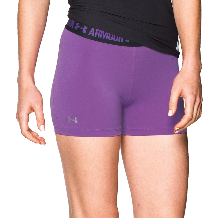 Magenta Women's Compression Shorts By Under Armour