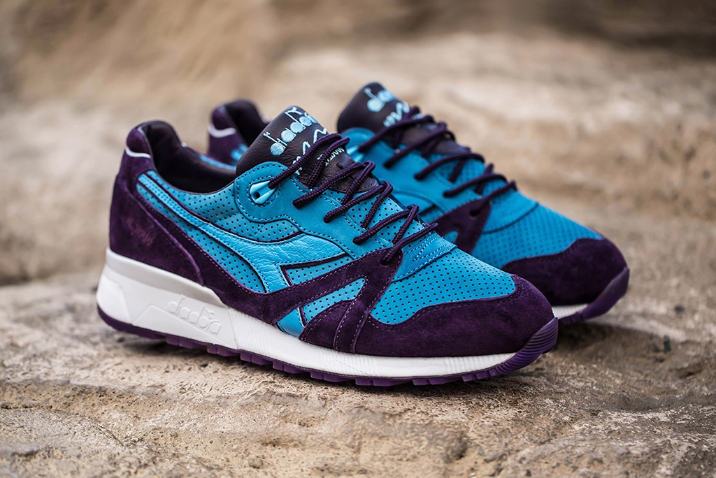 N.9000 Skeletor Shoe By BAIT x Dreamworks x Diadora