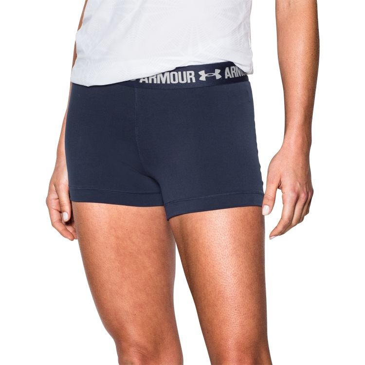 Navy Women's Compression Shorts By Under Armour
