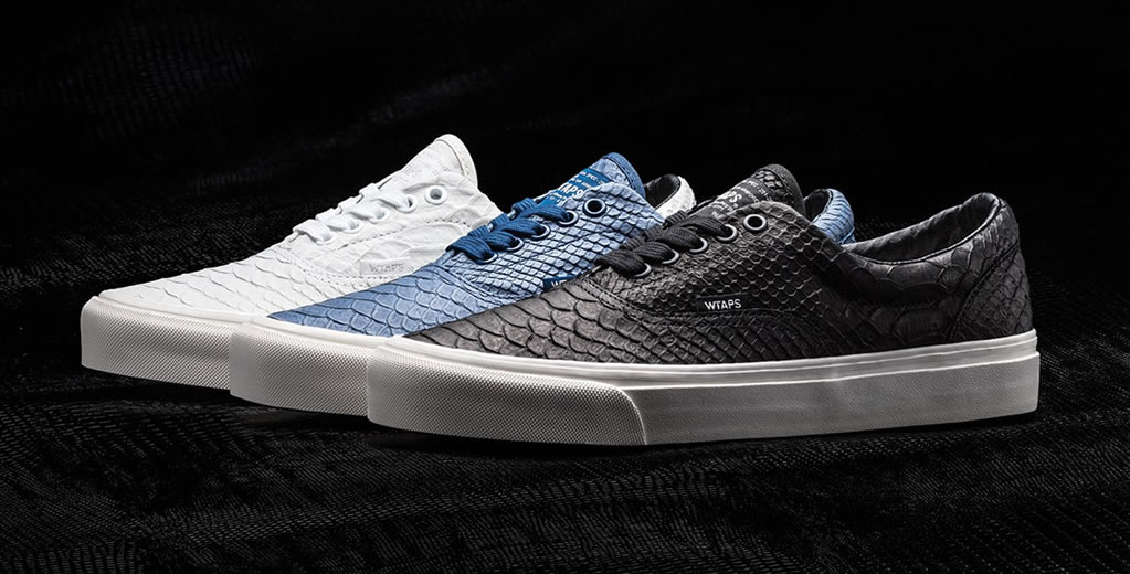 New Footwear Collection by Vans Vault x WTAPS