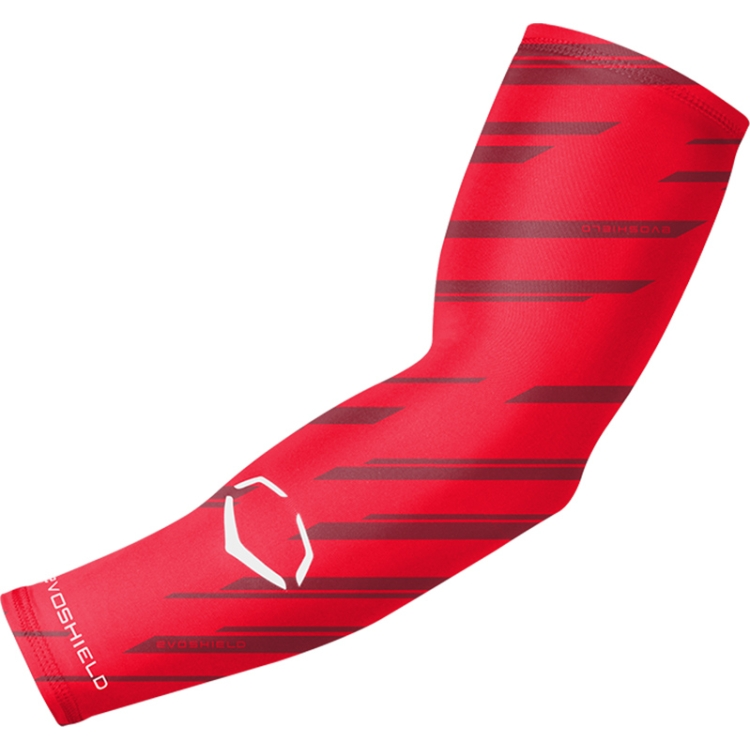 Red EvoShield Youth Compression Arm Sleeve