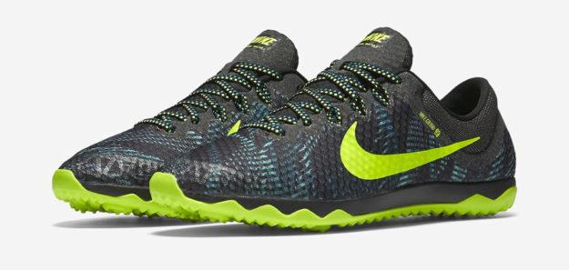 Rio Teal Nike Zoom Rival Waffle XC Shoe
