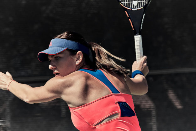 Simona Halep, Adidas New Tennis Collections For 2016 US Open