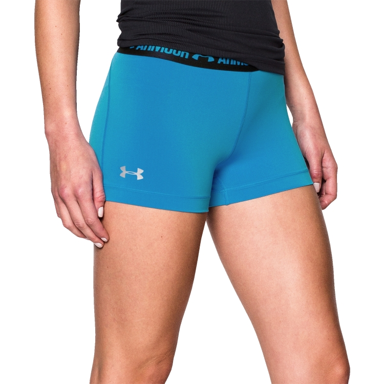 Women's HeatGear Armour Compression Shorts By Under Armour
