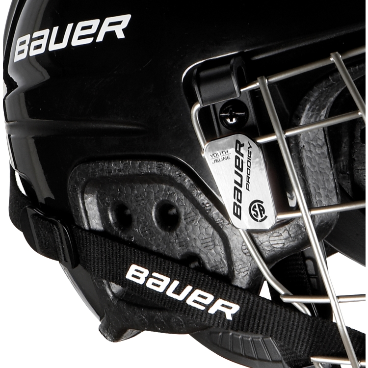 Bauer Youth PRODIGY Ice Hockey Helmet Combo, Details