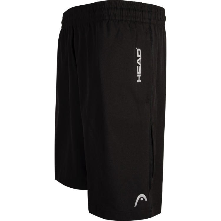Black Tennis Shorts For Men By HEAD