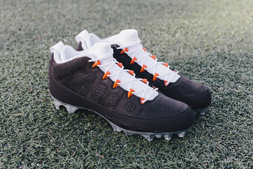 Custom Air Jordan Ix Cleats By Jordan Brand