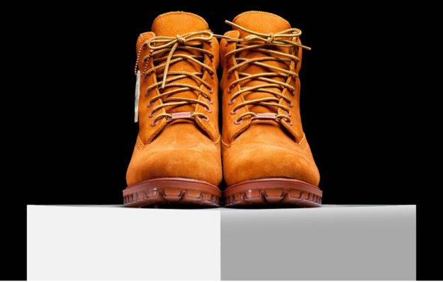 Dark Rust Boots by Timberland