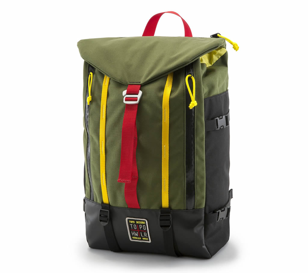 Great Mountain Pack By Howler Brothers And Topo Design