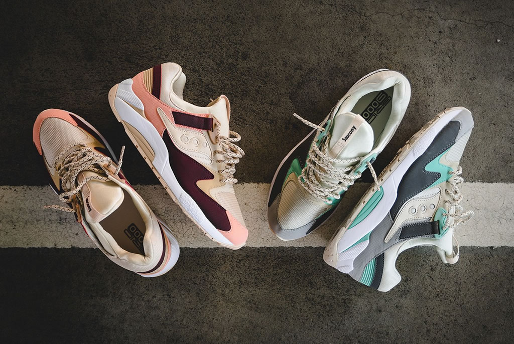 Grid 9000 By Saucony Receives Pastel Colorways