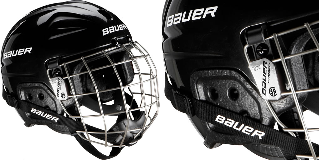 Ice Hockey Helmet Combo By Bauer