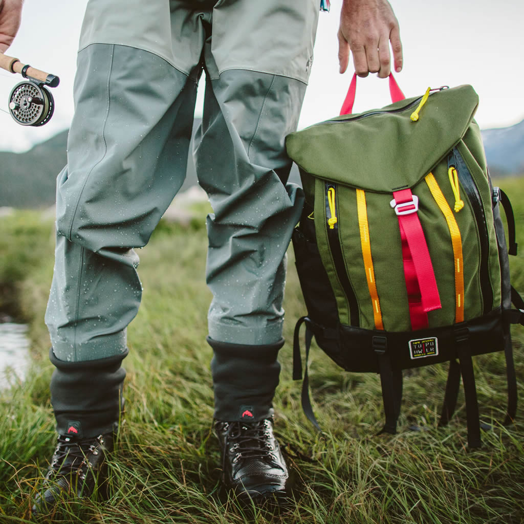 Lightweight Mountain Pack By Howler Brothers x Topo Design