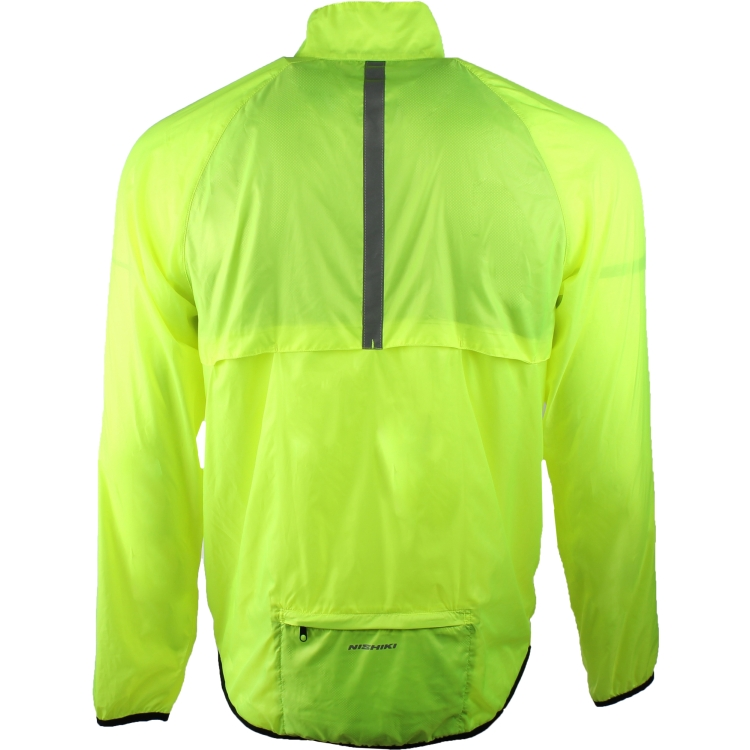 Men's Packable Cycling Jacket By Nishiki, Back