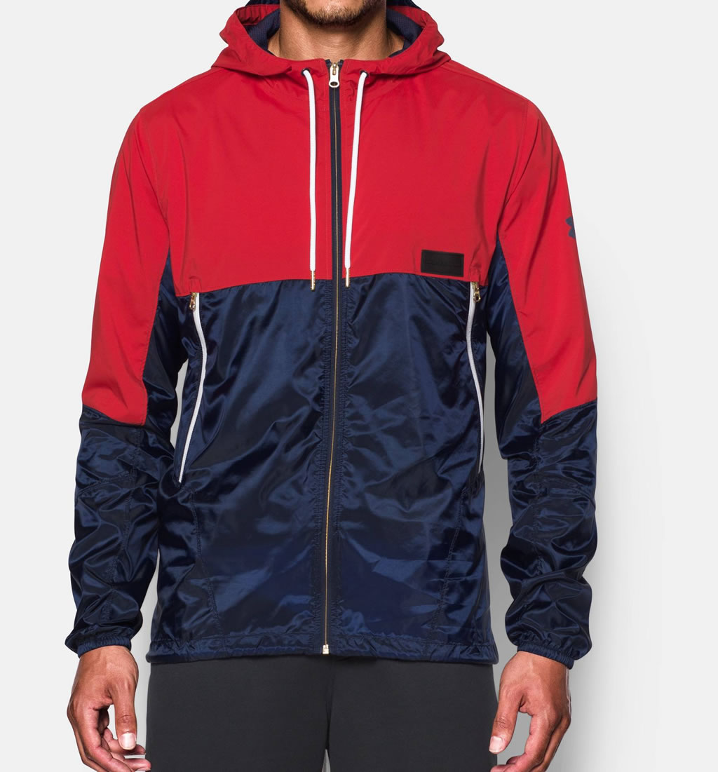 Midnight Navy Pursuit Jacket By Under Armour