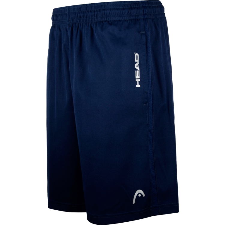 Navy Tennis Shorts For Men By HEAD