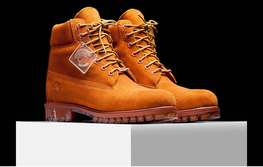 New Timberland Boots Dark Rust