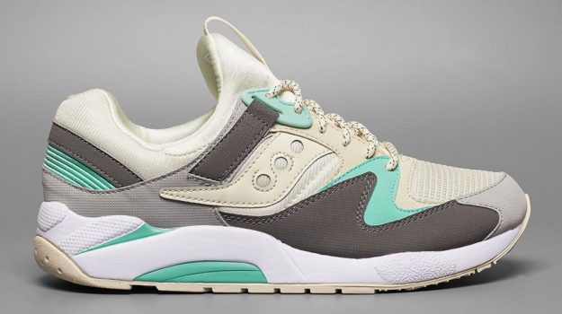 Pastel Grid 9000 By Saucony