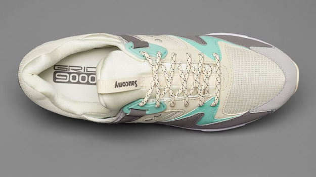 Pastel Grid 9000 Sneakers By Saucony