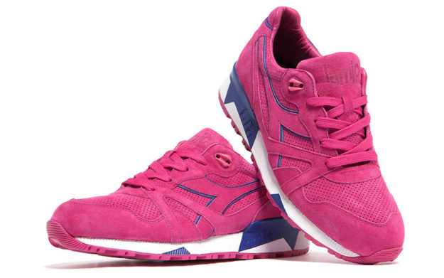 Pink N9000 Sneakers by Diadora and La MJC
