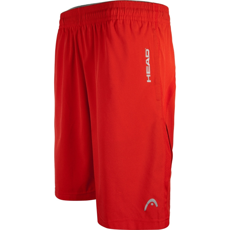 Red Break Point Woven Tennis Shorts For Men By HEAD