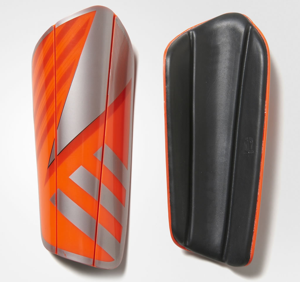 Red Ghost Pro Regular Shin Guards By Adidas