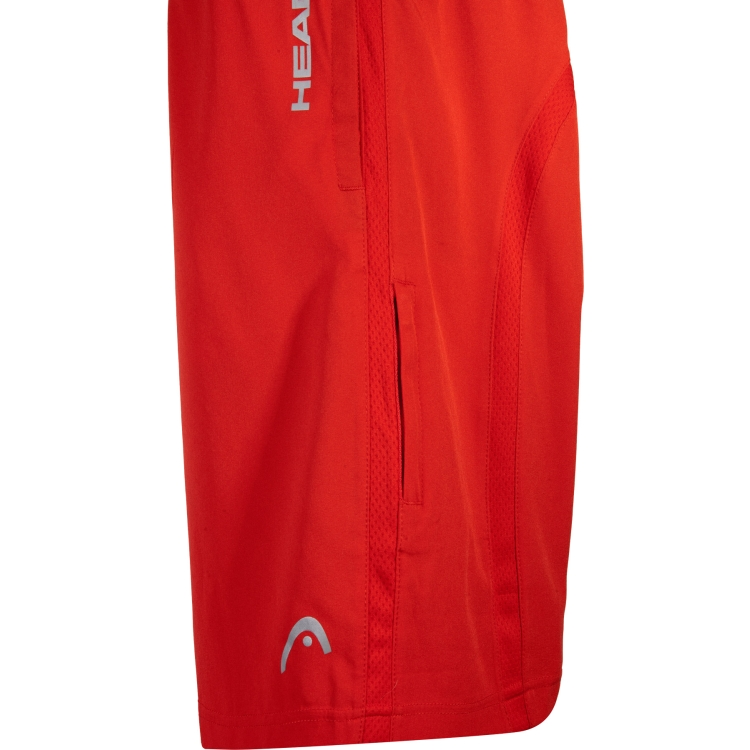Red HEAD Tennis Shorts For Men