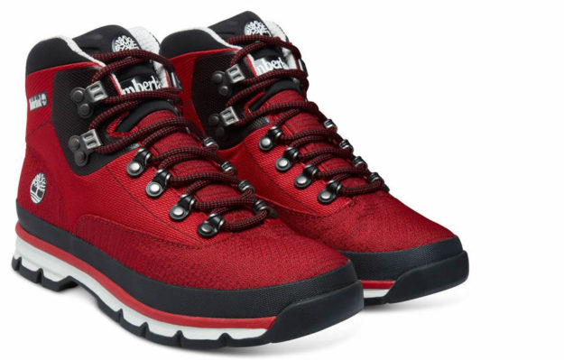 9664aea0b17 Men's Euro Hiker Mid Jacquard Boots By Timberland