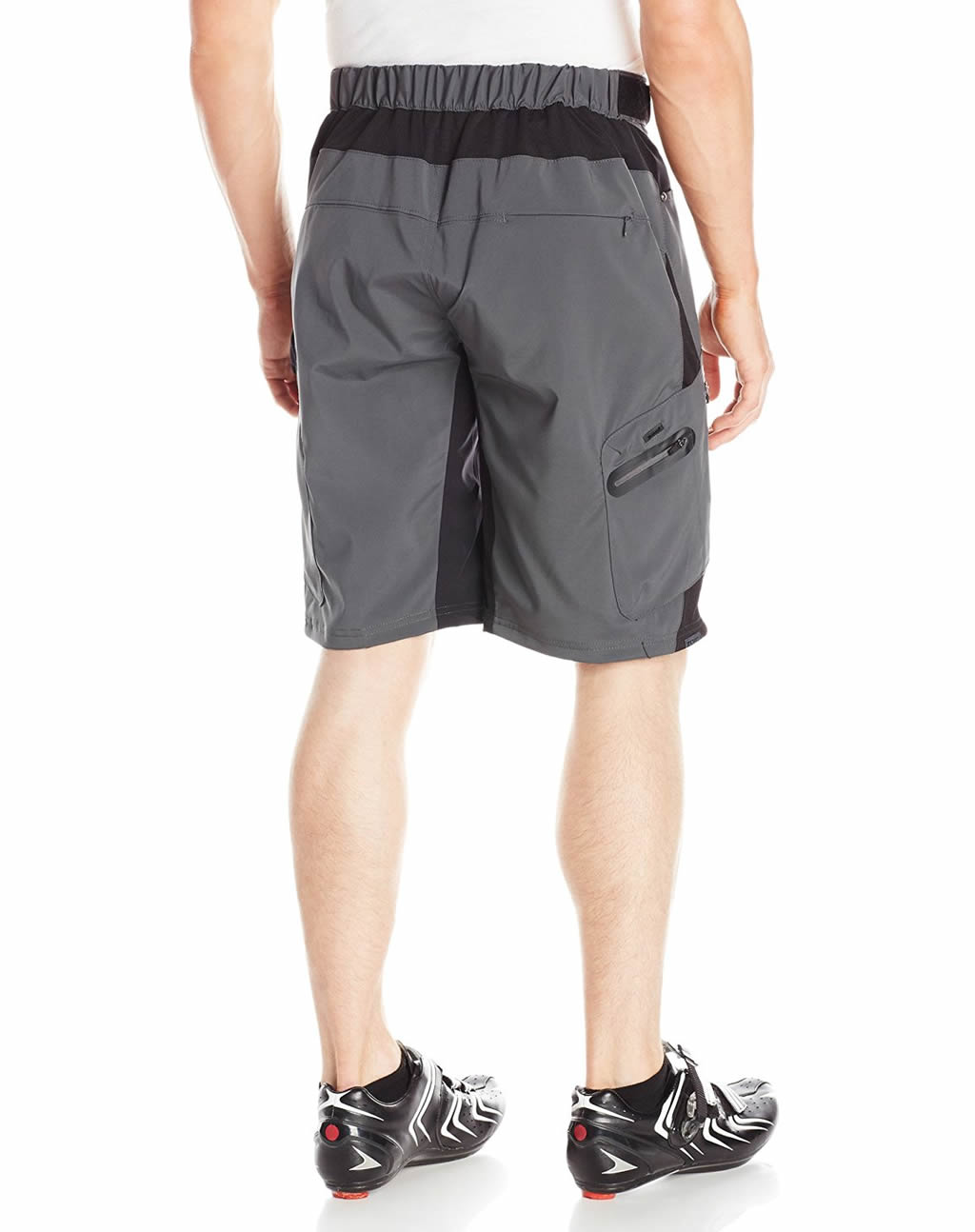 Shadow ZOIC Men's Ether Cycling Shorts, Back
