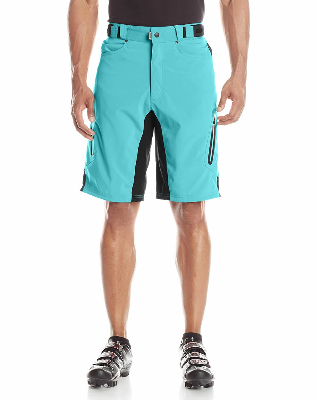 Teal ZOIC Men's Ether Cycling Shorts