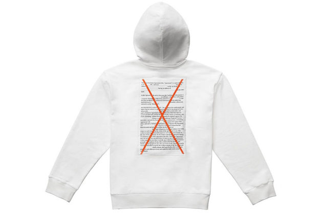 White Hoodie, Adidas Originals Capsule Collection by Alexander Wang