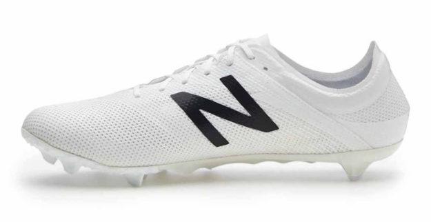 White New Balance Furon 2.0 Soccer Boot