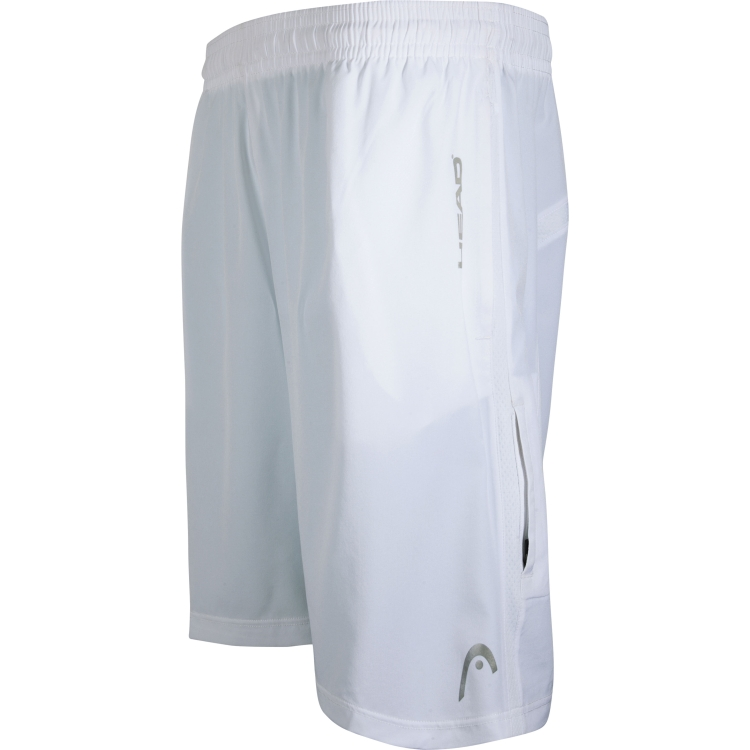White Tennis Shorts For Men By HEAD