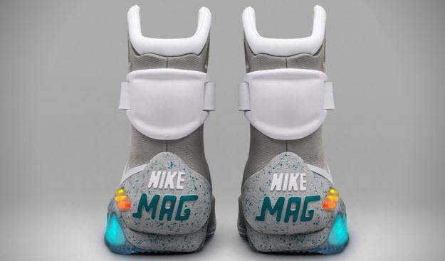 2016 Mag Sneakers by Nike , Heel Tab