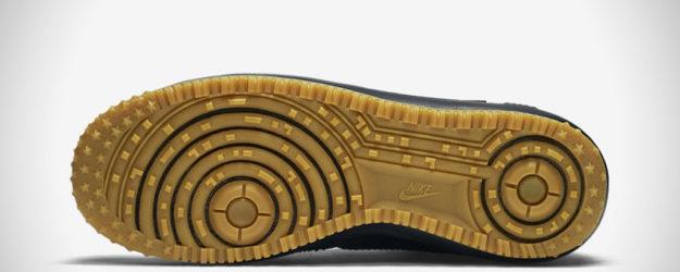 All Black Nike Lunar Force 1 Duckboot , Sole