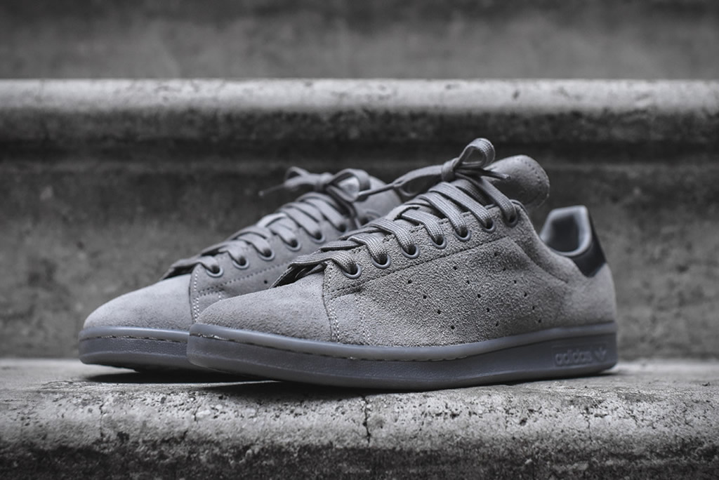 All Grey Adidas Stan Smith