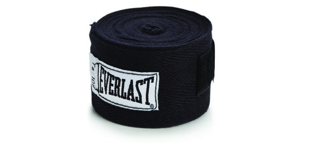 Black Boxing Hand Wraps By Everlast