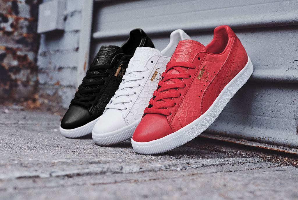 Clyde Dressed Pack By Puma And Walt Frazier