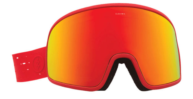 Electrolite Snowboard Goggles. Red