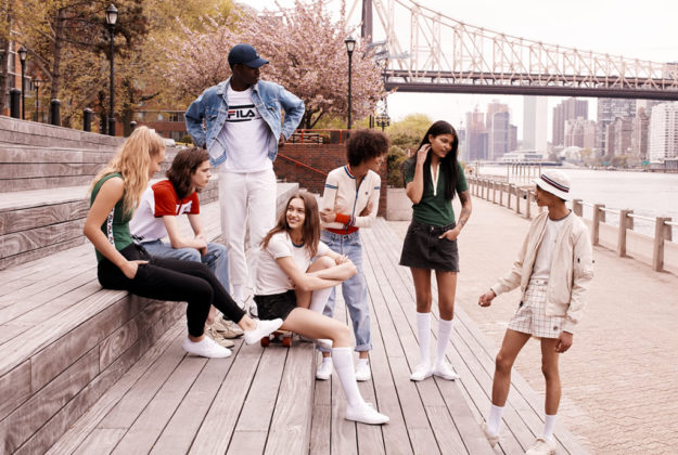 FILA x Urban Outfitters Men's Collection and Dual Gender Campaign