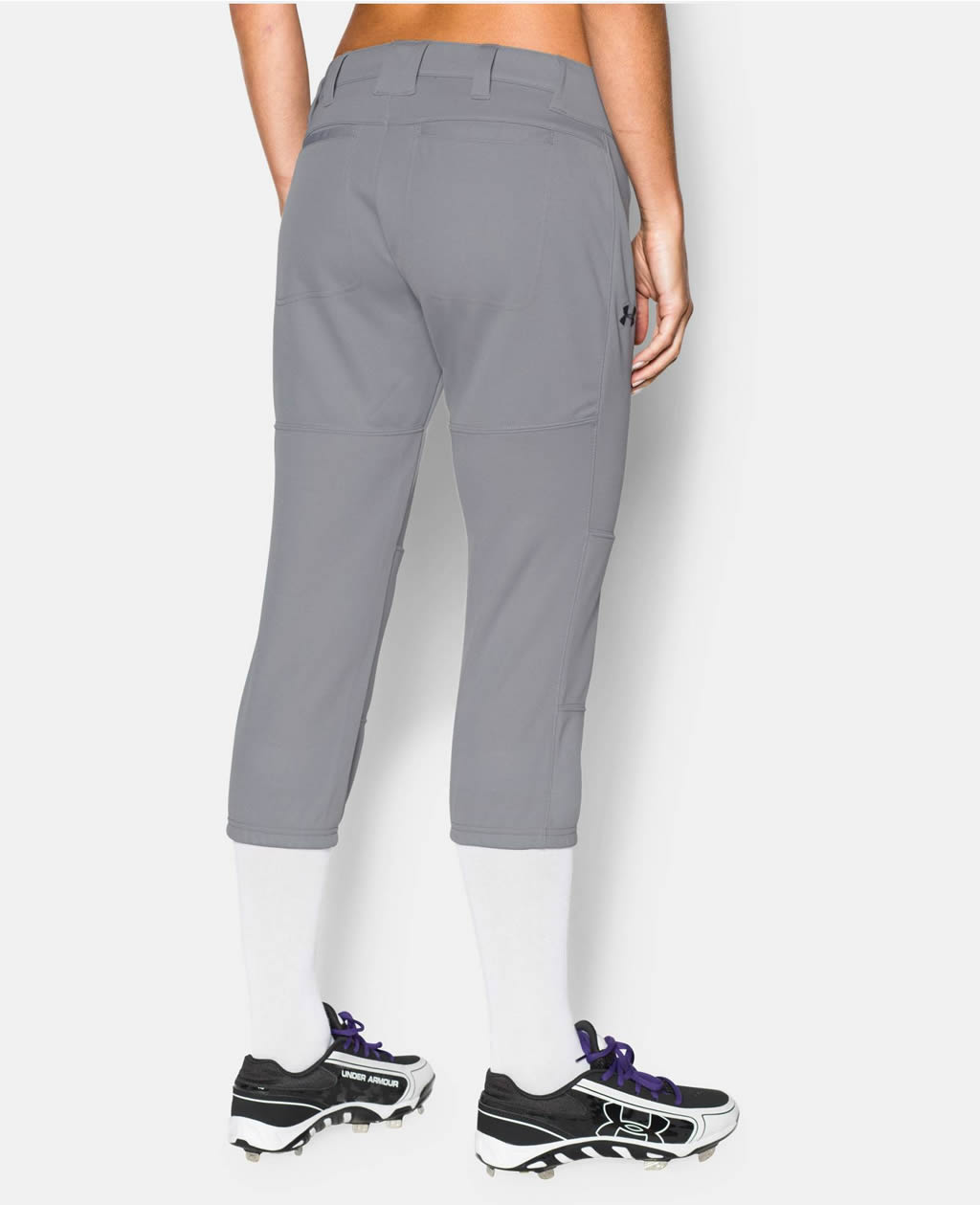 Grey Women's Strike Zone Pant By UA
