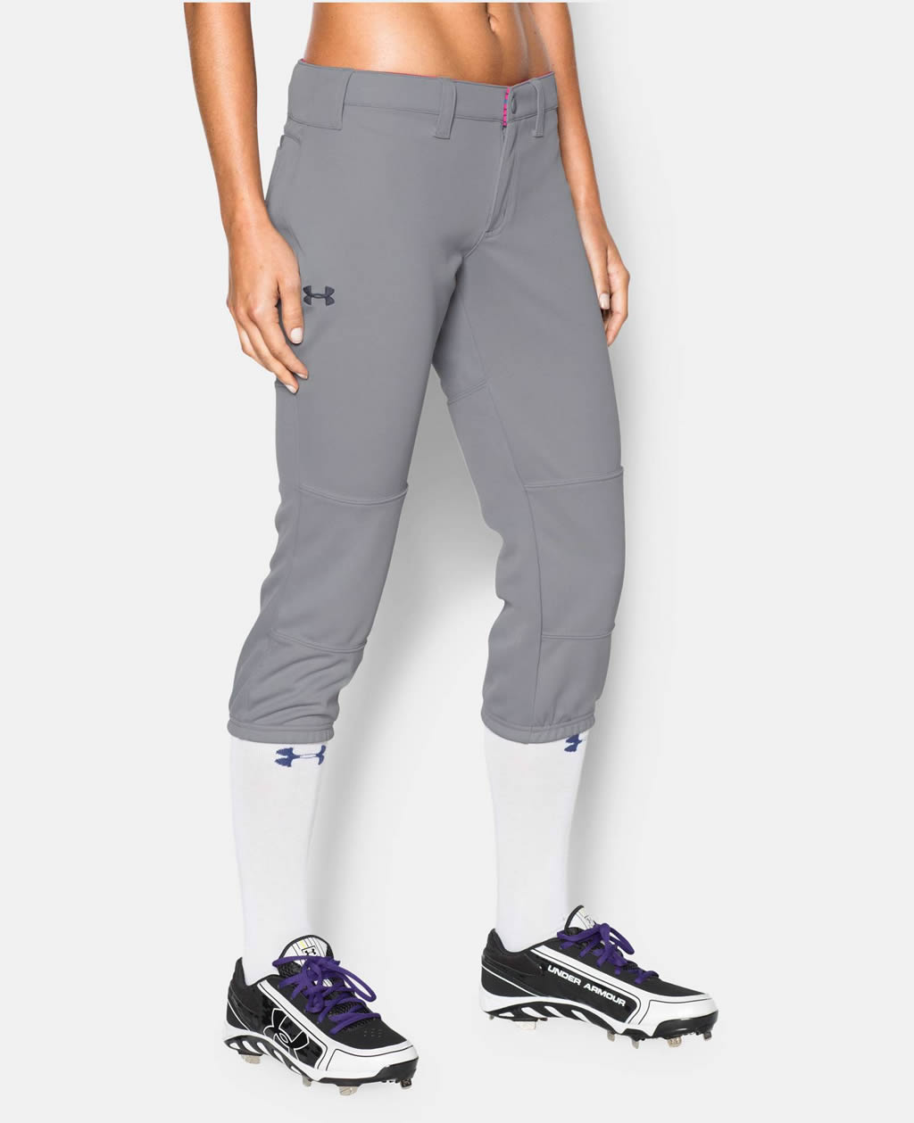 Grey Women's Strike Zone Pant By Under Armour