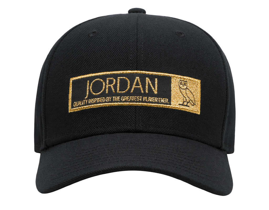 Holiday 2016 Collection By Jordan x Ovo, Black Hat