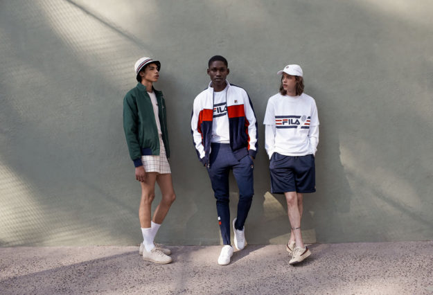 Men's Line By FILA and Urban Outfitters